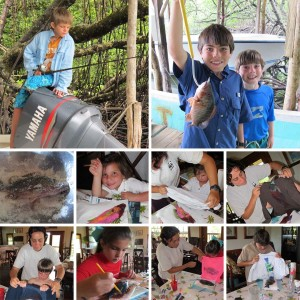 Rainy day activities for children at eco adventure lodge