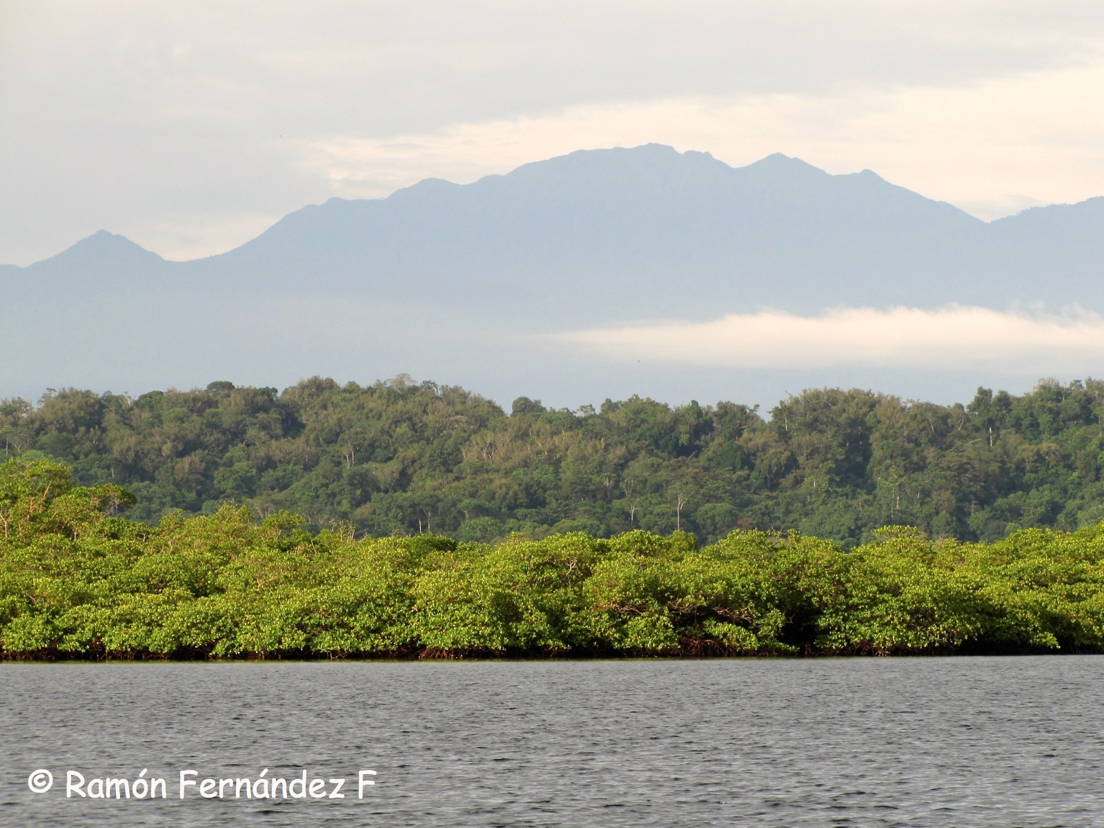 View of Volcan Baru from Bocas